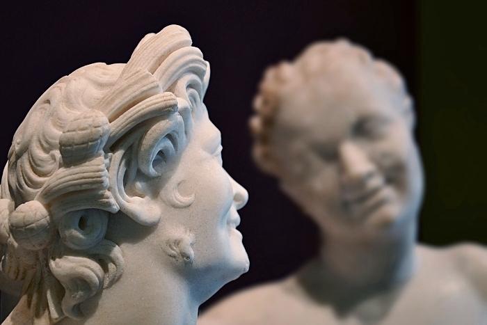 Fabian Fröhlich, Berlin, Altes Museum, Satyr und Hermaphrodit