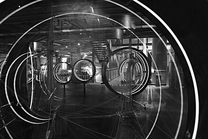 Berlin, Deutsches Technikmuseum, Schiffsmodelle