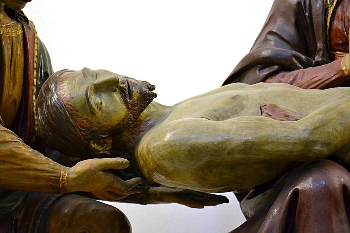 Fabian Fröhlich, Berlin, Bode-Museum, Beweinung Christi