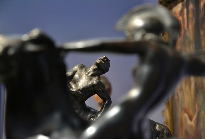 Fabian Fröhlich, Köln, Wallraf-Richartz-Museum, Franz von Stuck, Amazone und verwundeter Kentaur, Franz von Stuck, Amazone und verwundeter Kentaur
