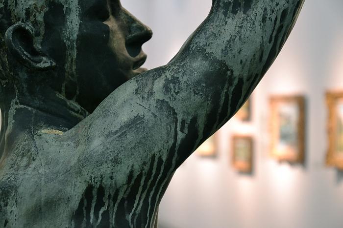 Auguste Rodin, Das eherne Zeitalter
