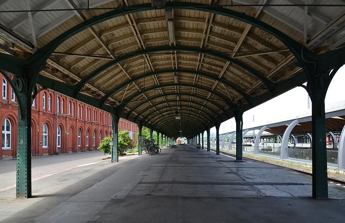Fabian Fröhlich, Kassel, Kulturbahnhof, Südflügel