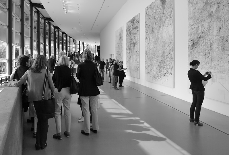 Julie Mehretu, Mogamma (documenta-Halle), documenta-13