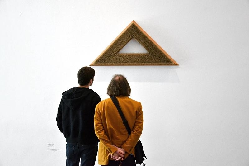 München, Pinakothek der Moderne, Rosemarie Trockel, ohne Titel