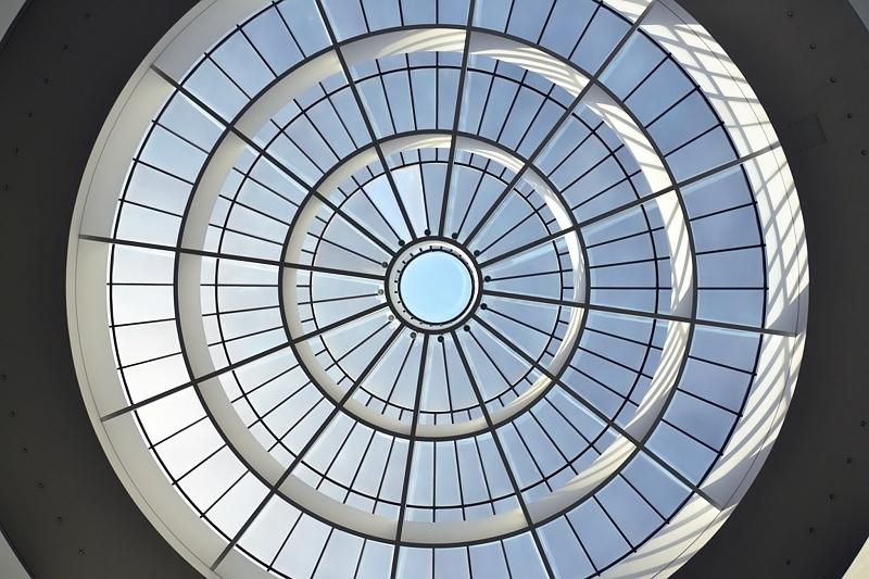 München, Pinakothek der Moderne, Rotunde und Kuppel, Fabian Fröhlich