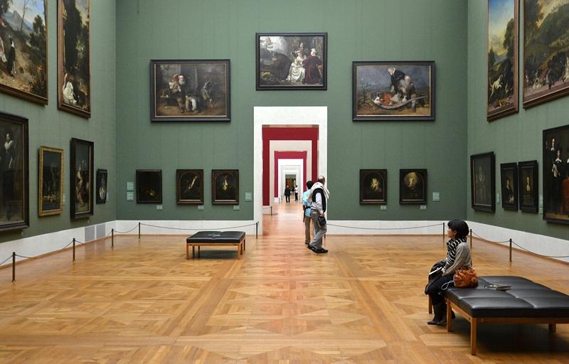 München, Alte Pinakothek, Saal holländische Malerei