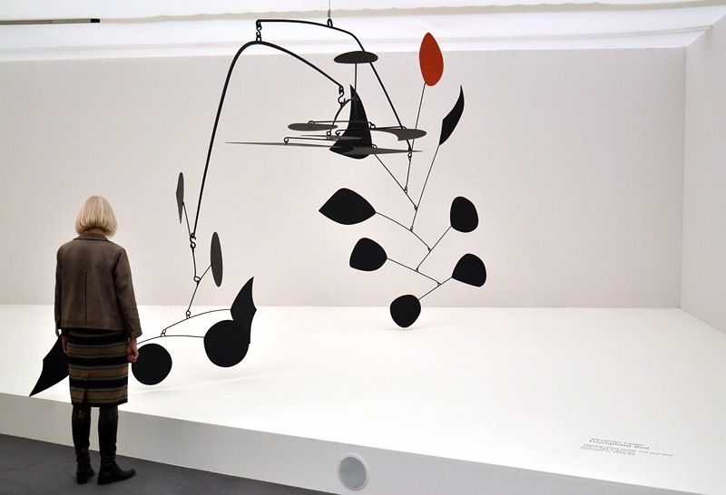 London, Frieze Masters, Alexander Calder, Triumphant Red, Fabian Fröhlich