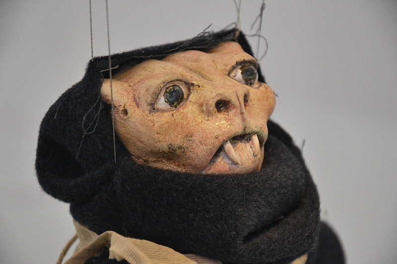 London, Frieze Art Fair, Wael Shawky, Marionette from The Path to Cairo, Fabian Fröhlich