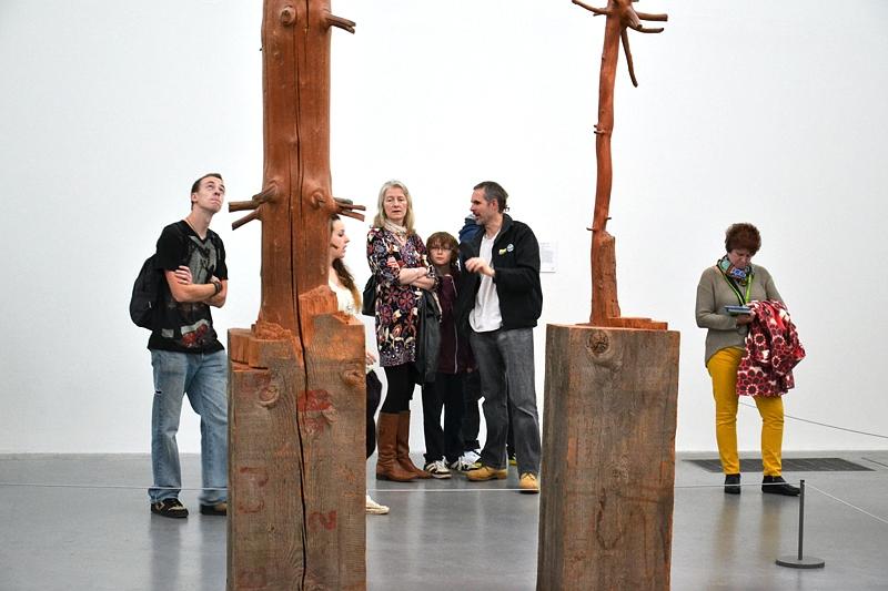 Tate Modern, Giuseppe Penone, Tree of 12 Metres