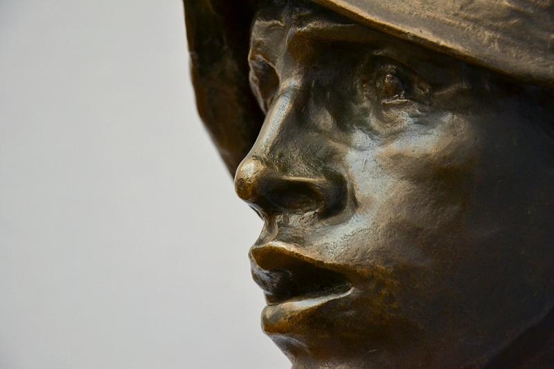 Neue Pinakothek, München, Constantin Meunier, Der Hüttenarbeiter, Fabian Fröhlich