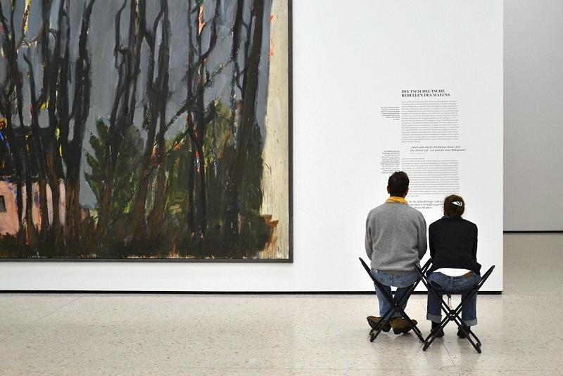 Städel Museum, Markus Lüpertz, Gelbes Haus, Fabian Fröhlich