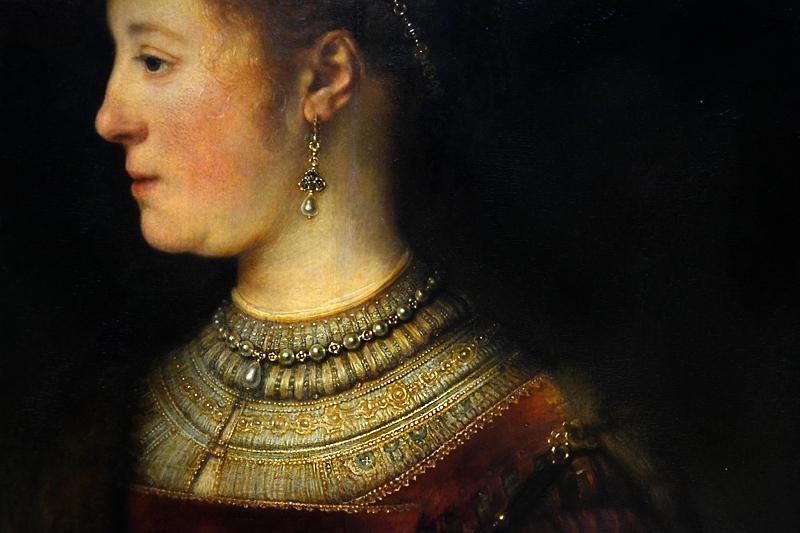 Kassel, Gemäldegalerie Alte Meister, Schloss Wilhelmshöhe, Rembrandt, Saskia van Uylenburg