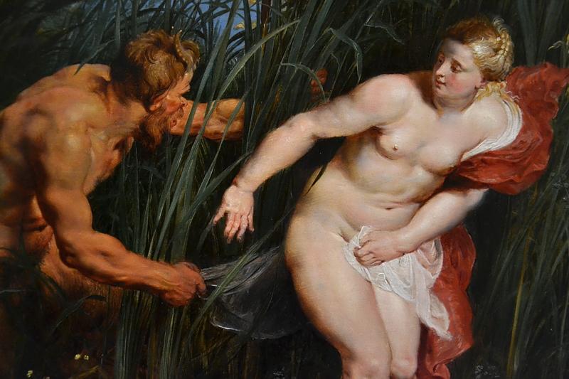 Kassel, Gemäldegalerie Alte Meister, Schloss Wilhelmshöhe, Peter Paul Rubens und Jan Brueghel d.Ä. Pan und Syrinx