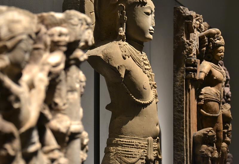 Museum für Asiatische Kunst, Dahlem, Stehende Gottheit, Rajasthan