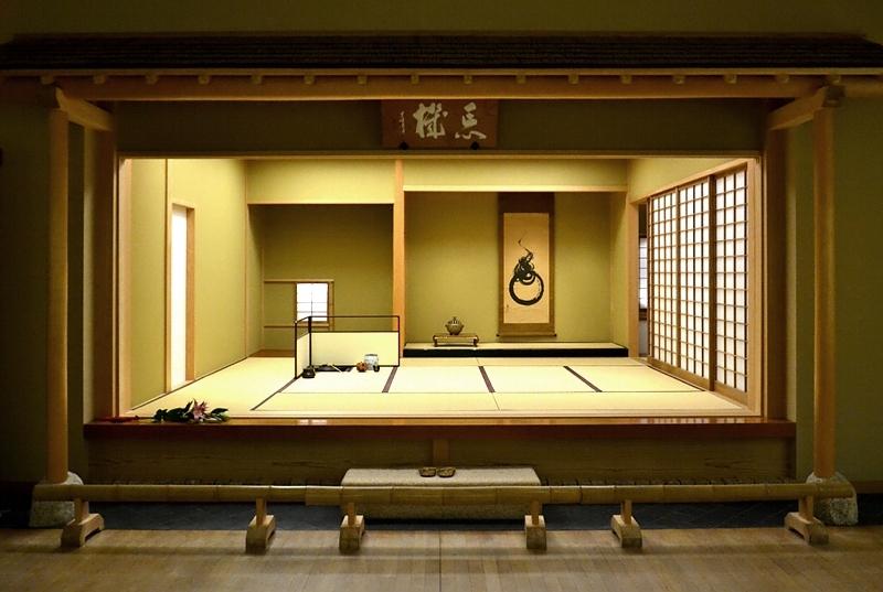 Museum für Asiatische Kunst, Dahlem, Japanischer Teeraum