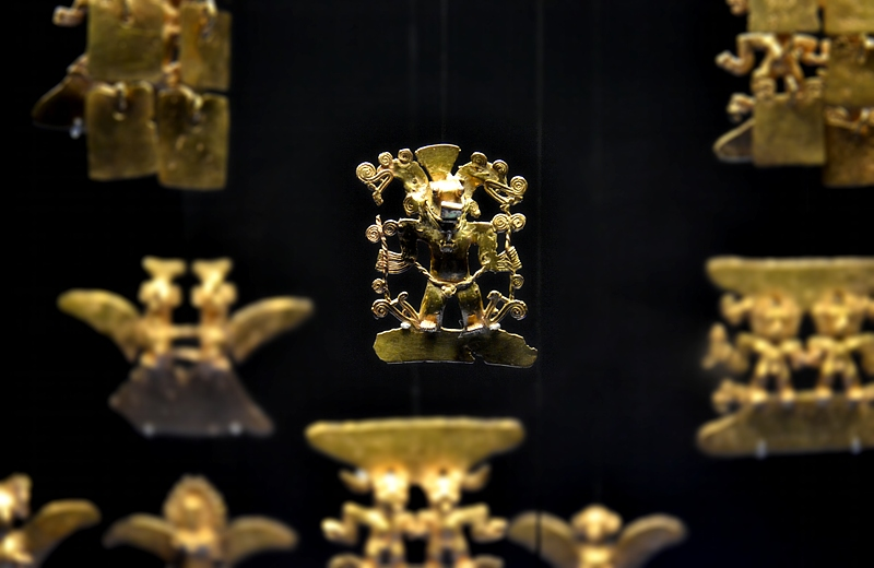 Ethnologisches Museum Berlin-Dahlem, Alt-Amerikanische Goldschmiedekunst
