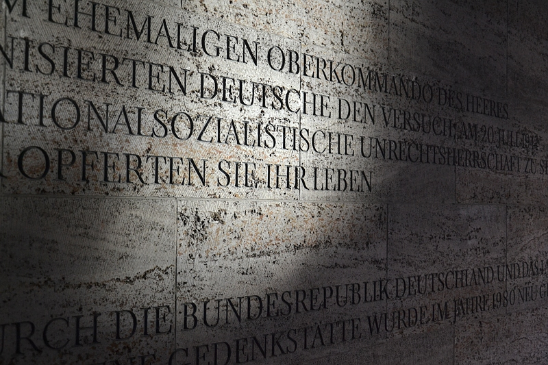 Berlin, Gedenkstätte Deutscher Widerstand, Bendlerblock