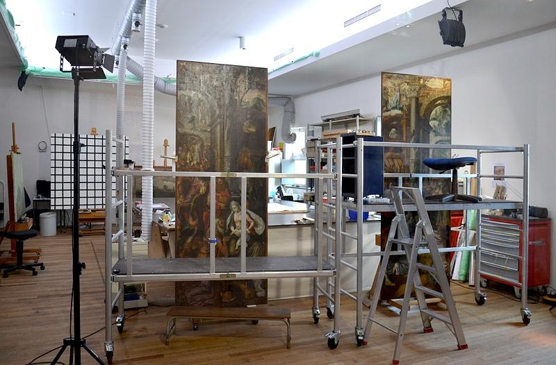 Bonnefantenmuseum Maastricht, Restaurierungswerkstatt