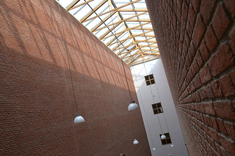 Bonnefantenmuseum Maastricht, Treppenhaus