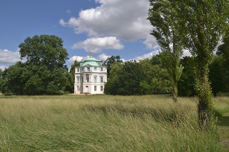 Schlosspark Charlottenburg, Teehaus Belvedere
