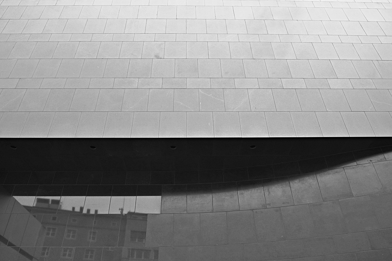 Düsseldorf, K20, Fassade
