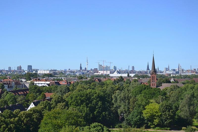 Hamburg Skyline, IBA Hamburg Wilhelmsburg, Energiebunker