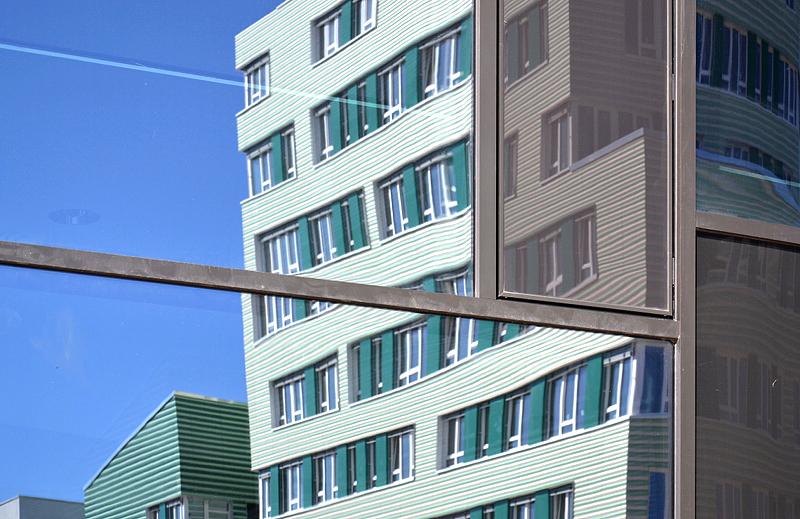 IBA Hamburg Wilhelmsburg, Eingangskomplex am Inselpark