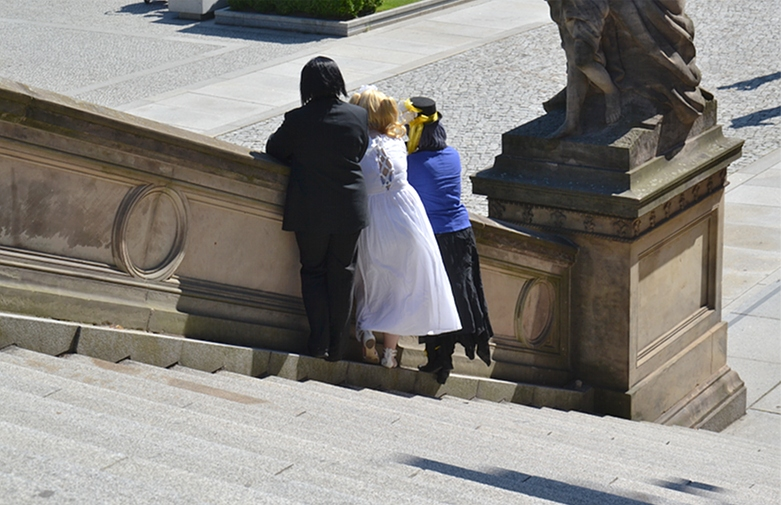 Alte Nationalgalerie, Cosplay