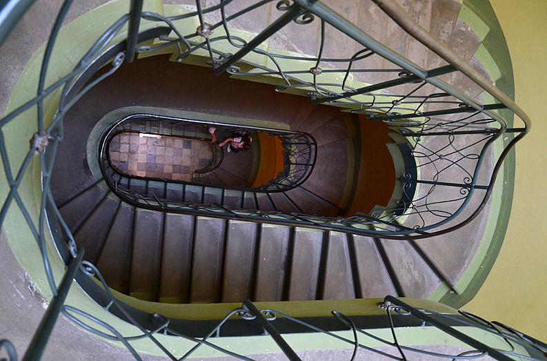 Park Sanssouci, Treppenhaus im Orangerieschloss