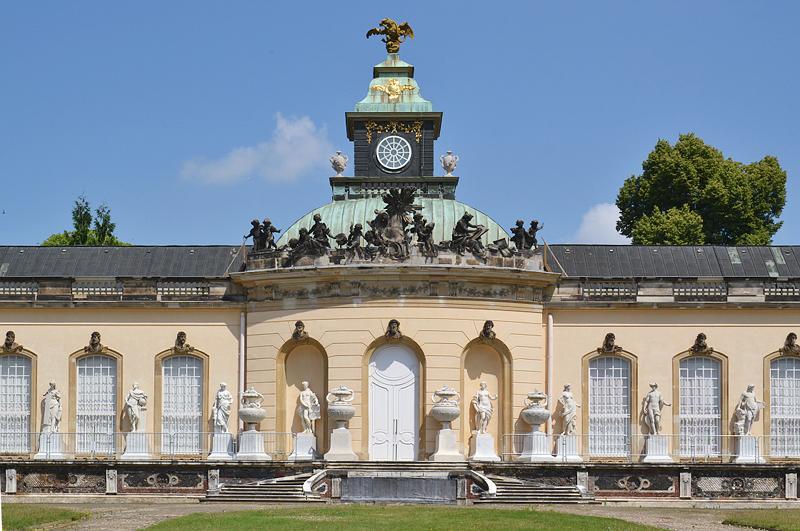 Sanssoucci, Bildergalerie Fassade