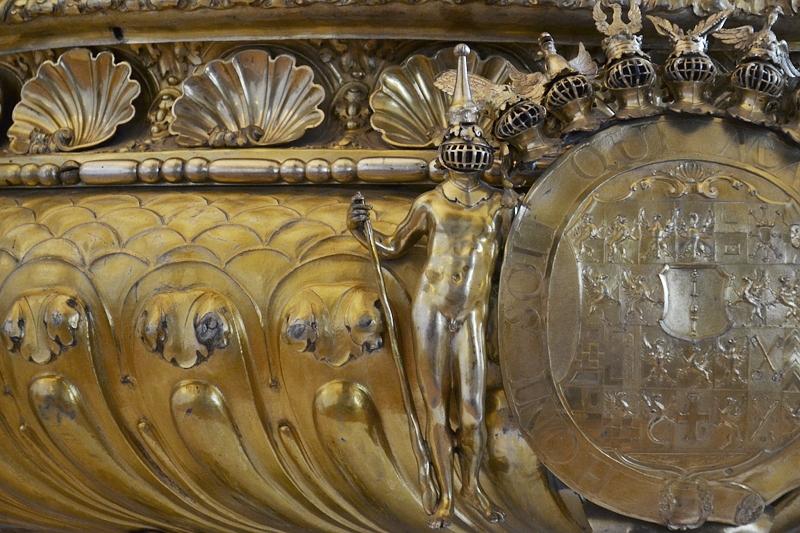 Kunstgewerbemuseum Schloss Köpenick, Großes Silberbuffet aus dem Berliner Schloss