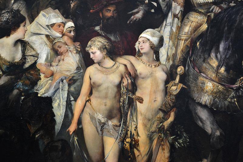 Hamburger Kunsthalle, Hans Makart, Der Einzug Karls V. in Antwerpen