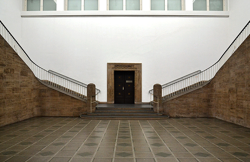 Hamburger Kunsthalle, Treppenhaus im Anbau