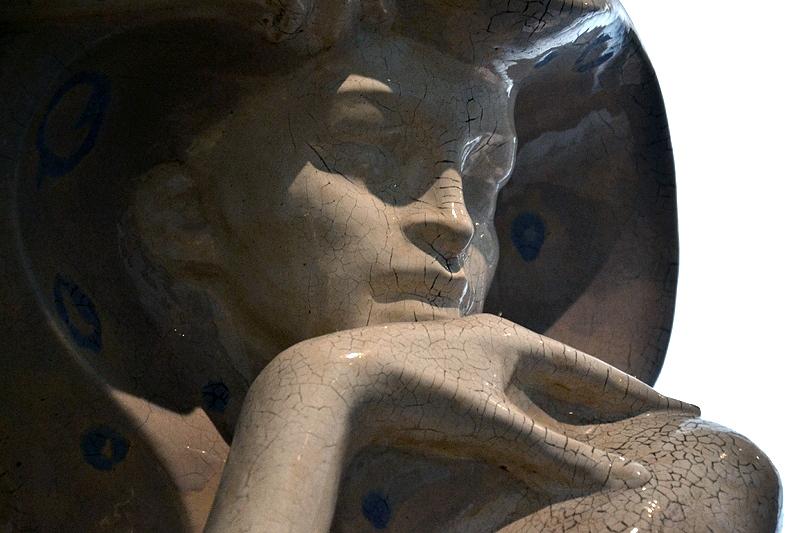 Museum für Kunst und Gewerbe, Hamburg, Jugendstil, Figur für das Palais Stoclet in Brüssel von Richard Luksch