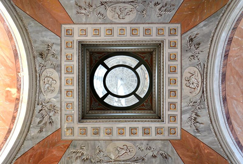 Neuer Garten, Potsdam, Kuppel über dem Treppenhaus des Marmorpalais, Fabian Fröhlich