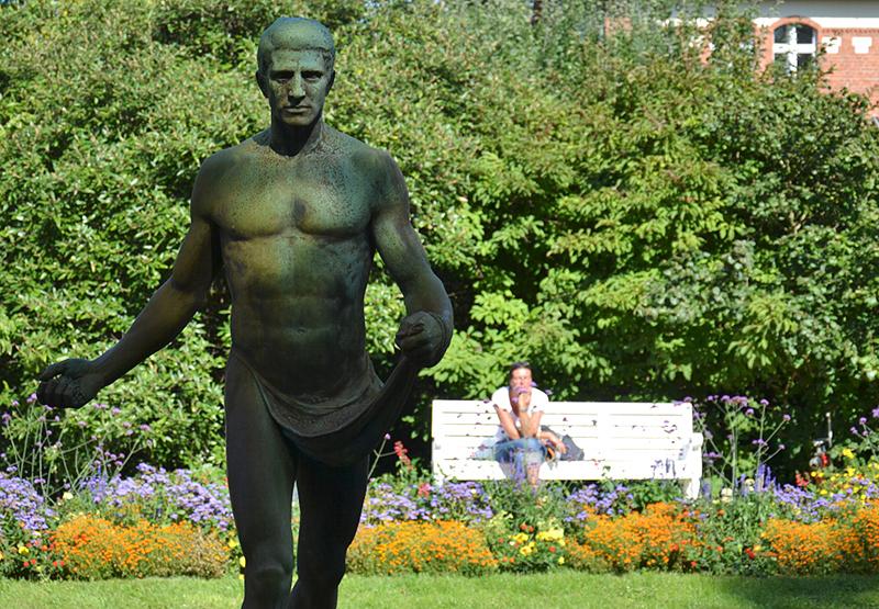 Sähmann von Hermann Joachim Pagels, Botanischer Garten Berlin