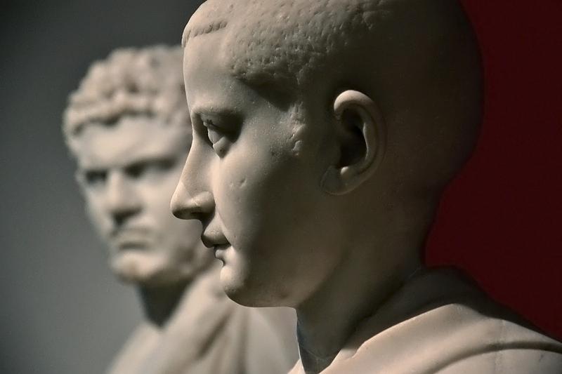 Berlin, Antikensammlung, Altes Museum, Römischer Jüngling