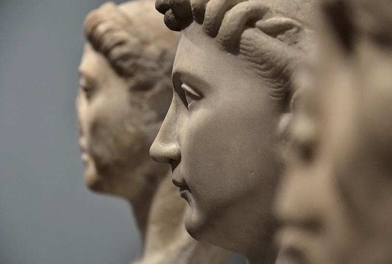 Berlin, Antikensammlung, Altes Museum, Römische Porträtbüsten