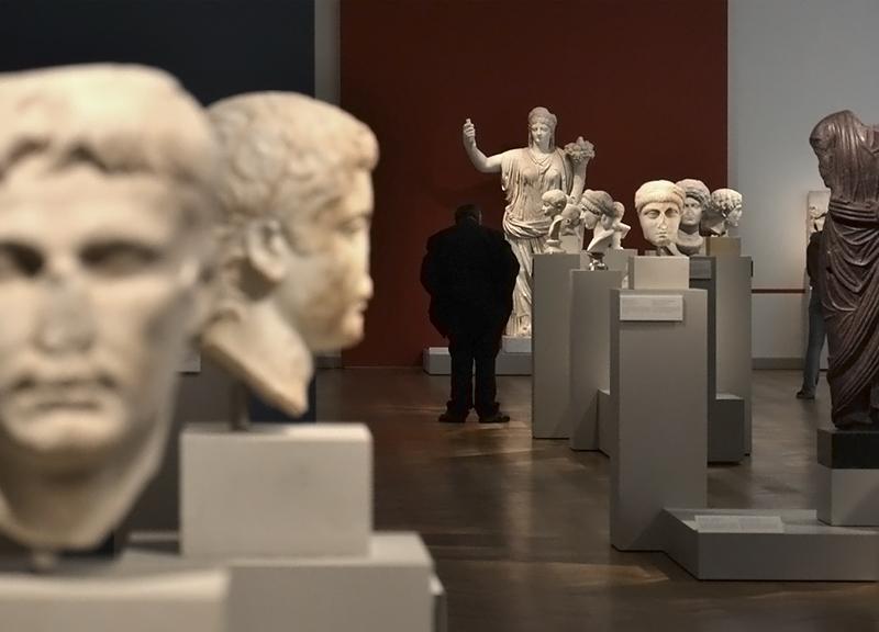 Berlin, Antikensammlung, Altes Museum, Römische Skulpturen