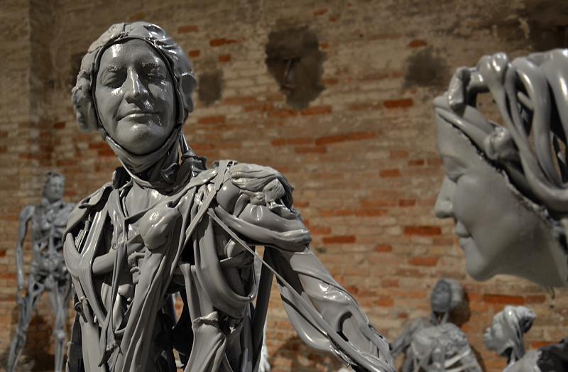 Biennale 2013, Arsenale, Pawel Althamer, Venetians