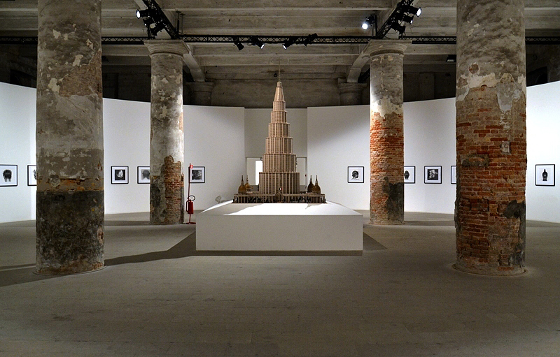 Biennale 2013, Arsenale, Marino Auriti, Encyclopedic Palace of the World