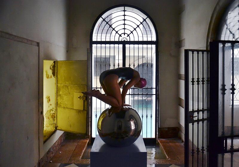 Personal Structures, Venice, Biennale 2013, Carole Feuerman, Quan
