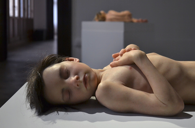 Personal Structures, Venice, Biennale 2013, Sam Jinks, Untitled (Boy)