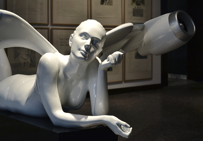 Personal Structures, Venice, Biennale 2013, Dimitry Shorin, I believe in Angels