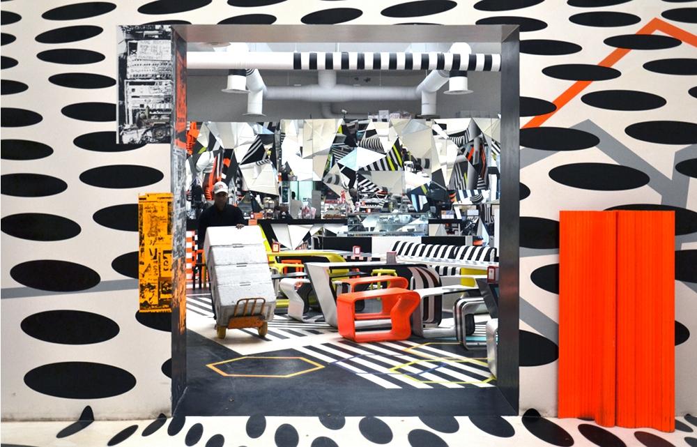 Biennale Venice, 2013, Giardini, Cafeteria, Thobias Rehberger