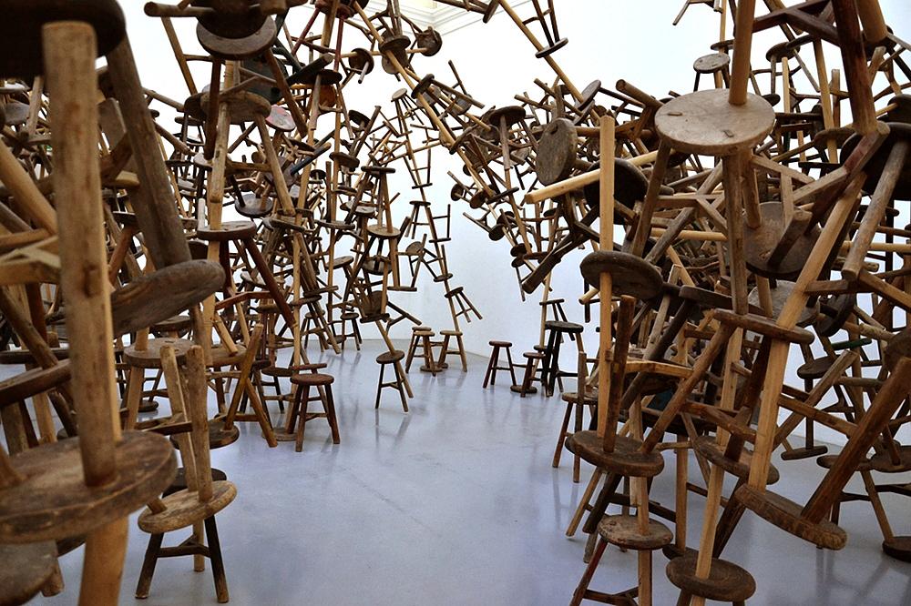 Biennale Venice, 2013, German Pavilion at French Pavilion, Ai Weiwei, Bang