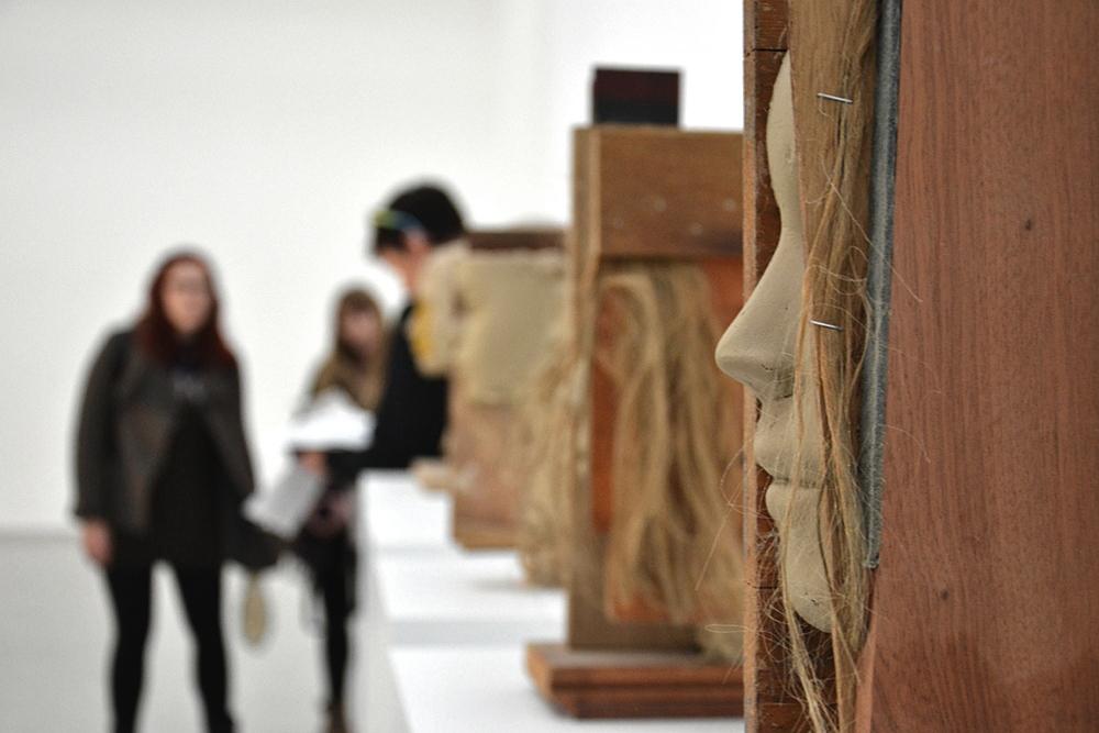 Biennale Venice 2013, Dutch Pavilion, Mark Manders, Room with Broken Sentence