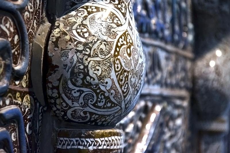 Berlin, Gebetsnische aus der Maidan-Moschee in Kaschan, Iran (Museum für Islamische Kunst)