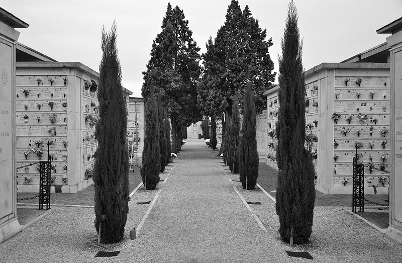 Venice, Isola di San Michele, Columbarium