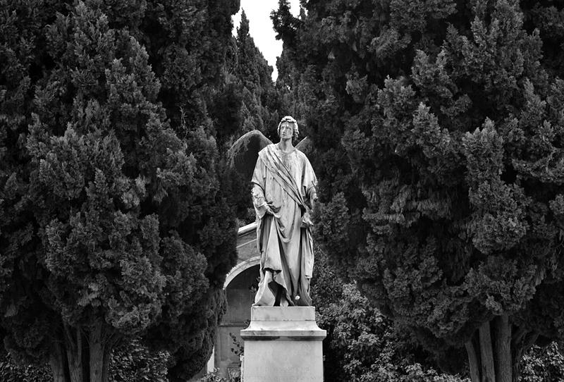 Venice, Isola di San Michele, Angel